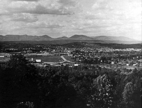 Town of Oak Ridge in 1969
