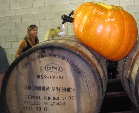 53-gallon barrel, with giant pumpkin for scale confusion. Image source.