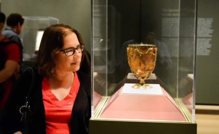 Cathy Lycurgus cup