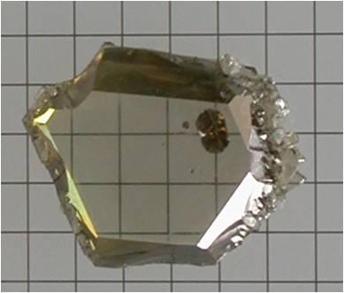 4 Gallium Nitride crystal