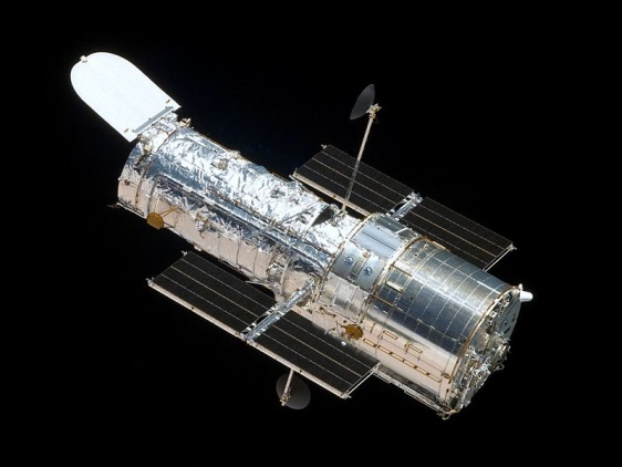 The Hubble space telescope. Image courtesy of NASA.
