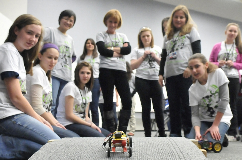 Introduce a Girl to Engineering Day 2012 at Argonne National Lab