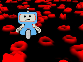 1 - robot in red blood cells