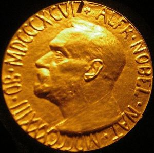 Nobel Medal awarded to Normal Angell in 1933