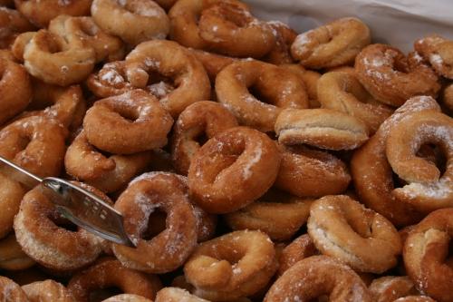 pile of doughnuts!