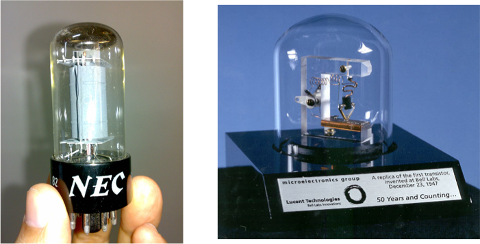 vacuum tube & transistor