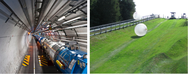 LHC & Zorbing