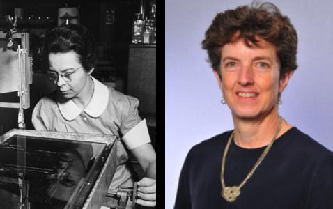Katharine Burr Blodgett & Margaret Schott