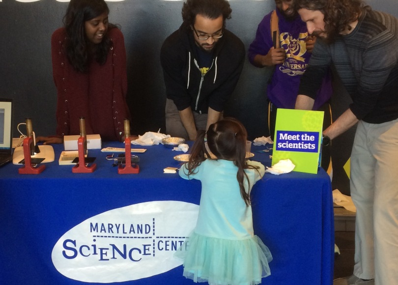Meet the Scientists demo