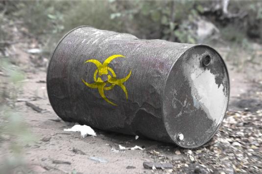 toxic sludge