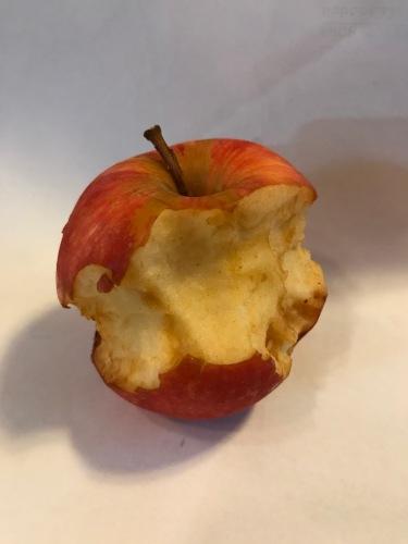 Browning apple